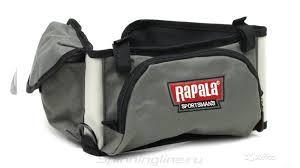 Сумка-<b>пояс Rapala Sportsman</b> 10 <b>Tackle Belt</b> (новая) купить в ...