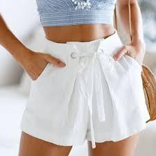 Women's Boho <b>Casual Tie Up Shorts</b>   Casual tie, Fashion, Casual