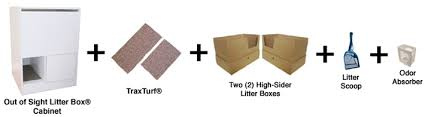out of sight litter box included cat litter box furniture 2