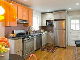 kitchen spaces remodel  hkitc after full kitchen orange cabinets sxjpgrendhgtvcom