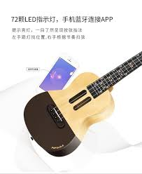 Original <b>Xiaomi Populele</b> U1 <b>APP LED</b> Bluetooth USB Smart Ukulele