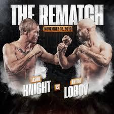 Artem Lobov-Jason Knight <b>2 Set</b> For BKFC 9 on November 16th
