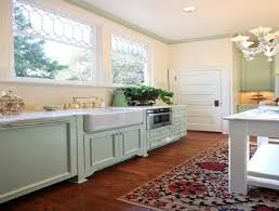 Shabby Chic Colors For Kitchen : Shabby chic kitchen cupboards black appliances with oak cabinets
