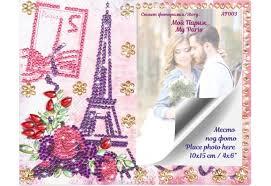 <b>Itshobby</b> Алмазная фоторамка Мой Париж - Акушерство.Ru
