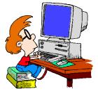 Znalezione obrazy dla zapytania granie na komputerze gif