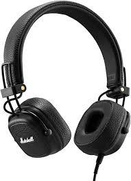 <b>Наушники</b> с микрофоном <b>Marshall Major III</b> Black - купить ...