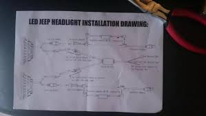 help wiring led headlights halos jeep wrangler forum click image for larger version 0312 1437006080080 jpg views 8271 size 101 4