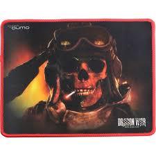 Игровой <b>коврик</b> для мыши <b>Qumo</b> Deadly Salute 280x230x3мм ...