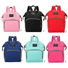 <b>Mummy Maternity</b> Nappy <b>Bag</b> Large Capacity <b>Travel Backpack</b> ...