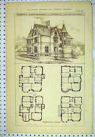 Design floor plans  Victorian house plans and Victorian houses on    vintage Victorian House Plans   CLASSIC VICTORIAN HOME PLANS   House Design