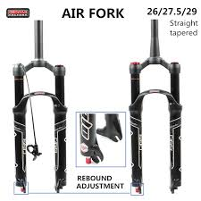HIMALO bicycle fork <b>Magnesium Alloy MTB Bicycle</b> Fork Air 26/27.5 ...