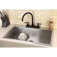ceramic kitchen sink preview save kingston brass uptowne ampquot x ampquot self rimming single bowl kitc