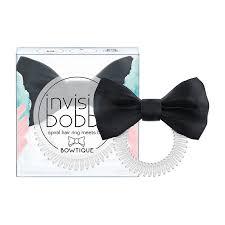 Buy <b>Invisibobble Bowtique True</b> Black online. - Boozyshop.com