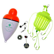 LED Flashing Fishing Bobber With Seven Explosion Night Hook ...