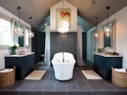 absolute home bathroom ideas with luxury white round drum shaded chandelier over tubs added transparent globe chandeliers drum pendant lighting decorating design