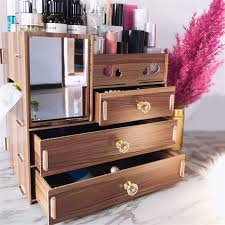<b>1PCs Fashion</b> 360 Degrees Rotating Makeup Organizer Display ...
