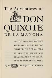 iconography of don quixote the adventures of don quixote de la mancha