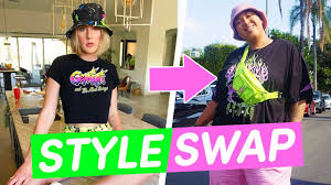 <b>Best Friends</b> Swap <b>Fashion</b> Styles For A Day - YouTube