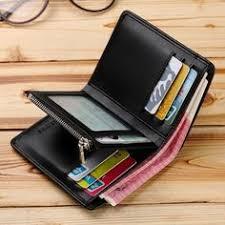 <b>Genuine</b> Leather <b>WILLIAMPOLO Men Wallet</b> Card Holder Business ...
