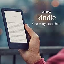 Amazon <b>All</b>-<b>new Kindle</b> - Now with a Built-in Front Light - 4 GB, <b>Black</b>