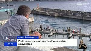 Porto das Lajes das Flores reabre à navegação após Lorenzo