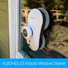 <b>ALBOHES Z5 Robotic</b> Window Cleaner Automatic Glass Cleaning ...