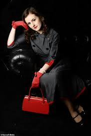 Image result for wearing vintage and contemporary clothes