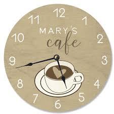 <b>Coffee</b> Cup <b>Wall</b> Clock | Wayfair