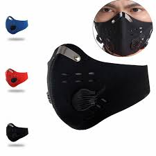 Non-Medical Activated Carbon Dust-Proof Riding Mask With ...