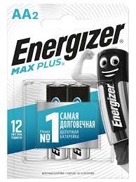 <b>Батарейка Energizer</b> Max Plus AA <b>2шт</b>. Energizer 9183267 в ...