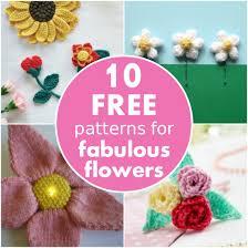 10 FREE <b>patterns</b> for fabulous <b>flowers</b> | Blog | Let's Knit Magazine