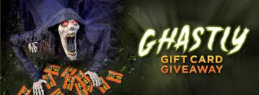 Fill out the form for your chance to win $100 Spirit Halloween Gift Card!