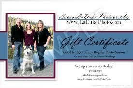 photography gift certificates eugene laduke photography eugene oregon photography discounts