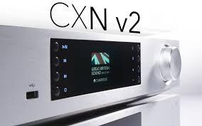 CXN v2 – обновлённый <b>сетевой проигрыватель</b> от <b>Cambridge</b> ...