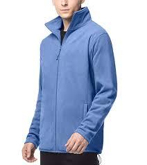 LAPASA <b>Men's</b> Microfibre <b>Fleece</b> Ziped <b>Jacket</b> - <b>Autumn</b> - Winter ...