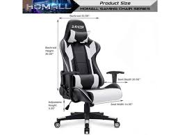 Blue Giantex <b>Executive Racing Office</b> Gaming <b>Chair</b> Ergonomic ...