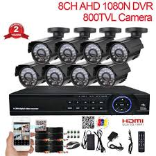 <b>CCTV</b> System 8CH DVR Kit 8 Channel <b>Outdoor Waterproof</b> Video ...