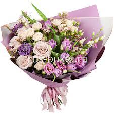 <b>Букет</b> «<b>Симфония</b> +30% цветов» с тюльпанами, розами и ...