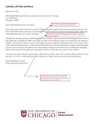 how to write a rocking cover letter uchicago career advancement cover letter sample
