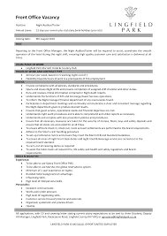 hotel front desk resume resume badak hotel front office manager resume sample