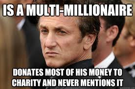 Humble Sean Penn memes | quickmeme via Relatably.com