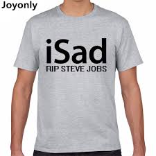 online get cheap summer jobs com alibaba group joyonly 2017 summer men cotton t shirt letter isad rip steve jobs print t shirt