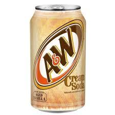 """<b>Напиток</b> безалкогольный <b>газированный</b> """"<b>A&W</b>"""" Cream soda, 355 ..."""