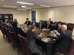 Resultado de imagem para foto de  Rafael Motta solicita ao ministro da Justiça pagamento de emenda para Central de Videomonitoramento na Grande Natal