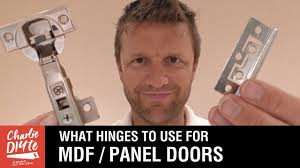 What Hinges to Use on MDF Panel Doors (& <b>Wardrobes</b>, Cabinets ...