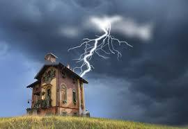 Как защитить дом от молний