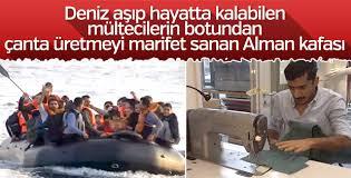Mülteci botlarından çanta