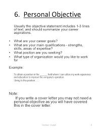 career aspiration statement examples ~ Odlp.co