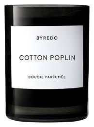<b>Ароматическая свеча Cotton Poplin</b> Byredo купить, цена на ...
