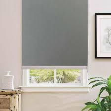 Gray 100% Blackout <b>Home</b> Roller Blinds,Customized Blinds ...